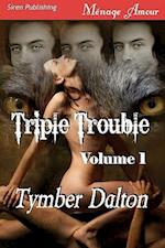 Triple Trouble, Volume 1 [Trouble Comes in Threes, Storm Warning] (Siren Menage Amour) af Tymber Dalton