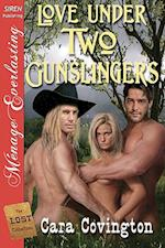 Love Under Two Gunslingers [The Lost Collection] (Siren Publishing Menage Everlasting) af Cara Covington