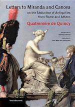 Letters to Miranda and Canova af Antoine Quatremere de Quincy