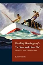 Reading Hemingway's to Have and Have Not