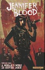 Jennifer Blood 1 (Garth Ennis' Jennifer Blood)