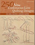 250 New Continuous-Line Quilting Designs-Print-on-Demand-Edition: For Hand, Machine & Longarm Quilters