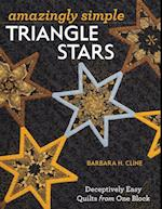 Amazingly Simple Triangle Stars af Barbara H. Cline