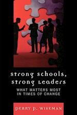Strong Schools, Strong Leaders