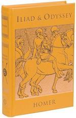 The Iliad & The Odyssey (Leatherbound Classics)