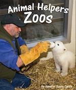Animal Helpers Zoos af Jennifer Keats Curtis