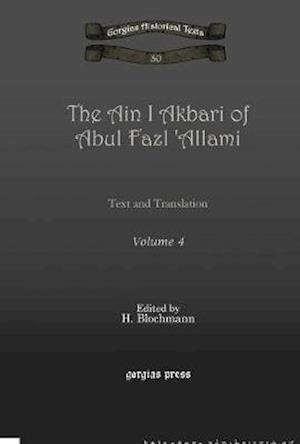 The Ain I Akbari of Abul Fazl 'Allami (Vol 4)
