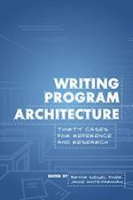 Writing Program Architecture