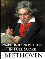 Ludwig Van Beethoven - Symphonies Nos. 1 to 9 in Full Score