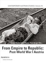 From Empire to Republic af Fritz Plasser, Gunter Bischof