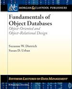 Fundamentals of Object Databases (Synthesis Lectures on Data Management)