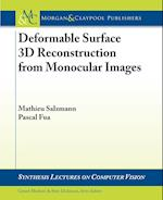 Deformable Surface 3D Reconstruction from Monocular Images (Synthesis Lectures on Computer Vision)