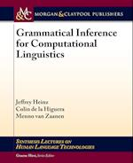 Grammatical Inerence for Computational Linguistics (Synthesis Lectures on Human Language Technologies)