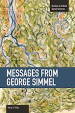 Messages from Georg Simmel af Horst J. Helle