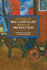 Studies on Pre-Capitalist Modes of Production (Historical Materialism Book)
