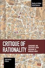 Critique of Rationality (STUDIES IN CRITICAL SOCIAL SCIENCES)