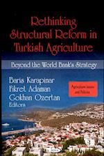 Rethinking Structural Reform in Turkish Agriculture