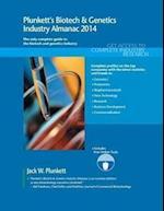 Plunkett's Biotech & Genetics Industry Almanac 2014 (Plunketts Industry Almanacs)
