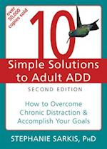 10 Simple Solutions Adult ADD (10 Simple Solutions)