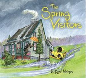 Bog, hardback The Spring Visitors af Karel Hayes