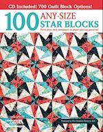 100 Any-size Star Blocks