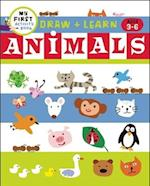 Draw + Learn: Animals (My First Activity Books)