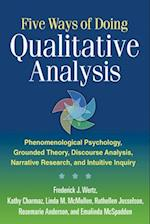 Five Ways of Doing Qualitative Analysis af Rosemarie Anderson, Linda M McMullen, Kathy Charmaz