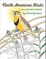 North American Birds A Coloring Book (Bur Oak Book)