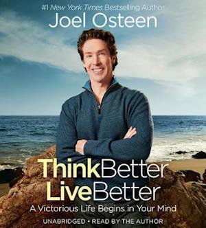 Lydbog, CD Think Better, Live Better af Joel Osteen