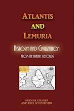 Atlantis and Lemuria: History and Civilization