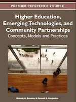 Higher Education, Emerging Technologies, and Community Partnerships
