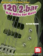 120 2-bar ii-V Riffs for Bass af Frank Vignola