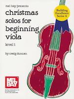 Christmas Solos for Beginning Viola