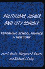 Politicians, Judges, and City Schools
