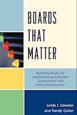 Boards that Matter