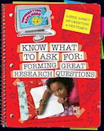 Know What to Ask (Information Explorer)