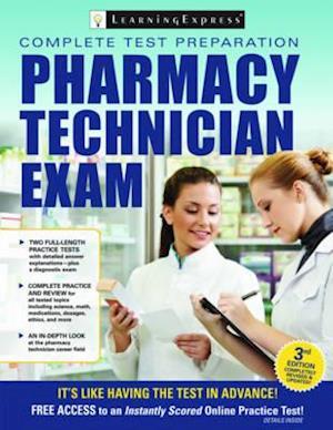 Bog, paperback Pharmacy Technician Exam af LearningExpress