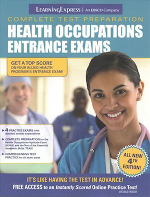 Bog, paperback Health Occupations Entrance Exams af LearningExpress