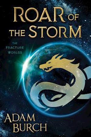 Bog, paperback Roar of the Storm af Adam Burch