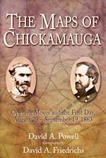 Maps of Chickamauga af David Powell