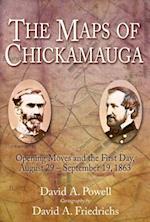 Maps of Chickamauga