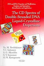 CD Spectra of Double-Stranded DNA Liquid-Crystalline Dispersions
