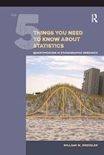 The 5 Things You Need to Know About Statistics
