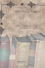 Bibliothecae Syriacae af Paul De Lagarde