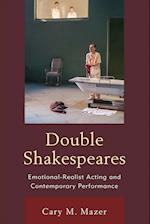 Double Shakespeares (Shakespeare and the Stage)