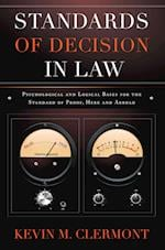 Standards of Decision in Law