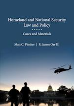 Homeland and National Security Law and Policy