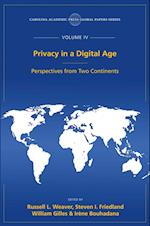 Privacy in a Digital Age (Global Papers)