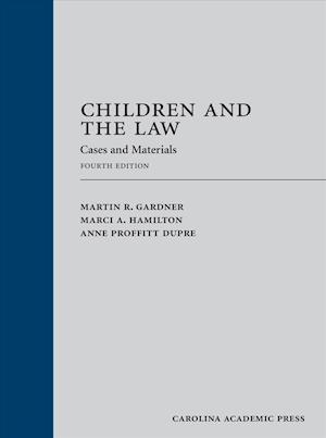 Bog, hardback Children and the Law af Martin Gardner