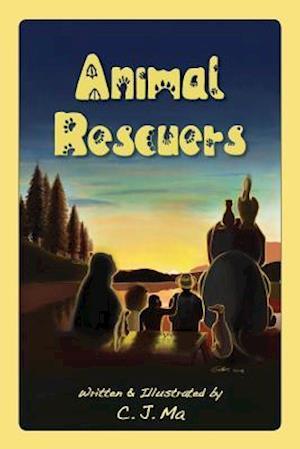 Bog, hæftet Animal Rescuers af C. J. Ma